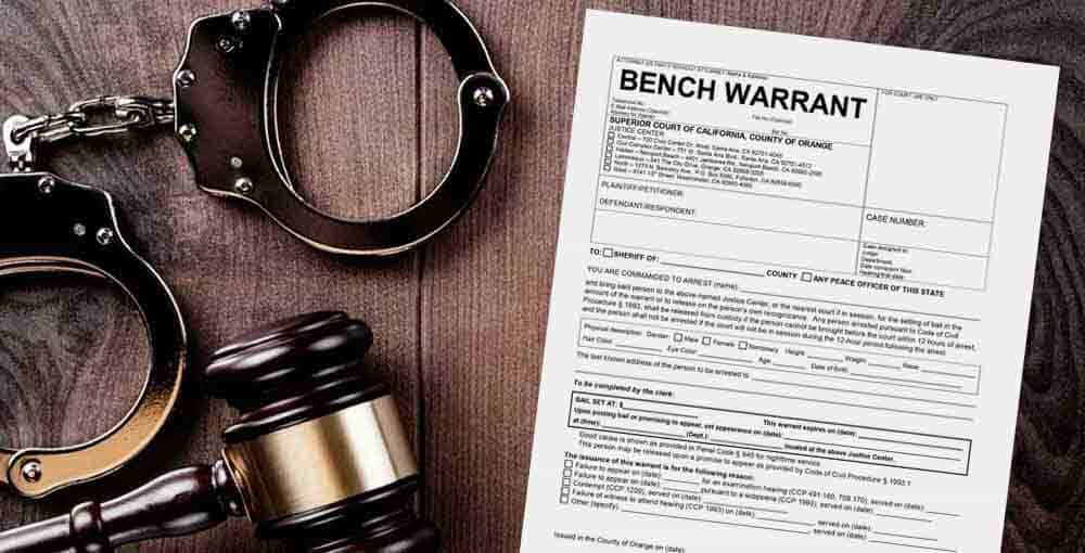 NJ bench warrant