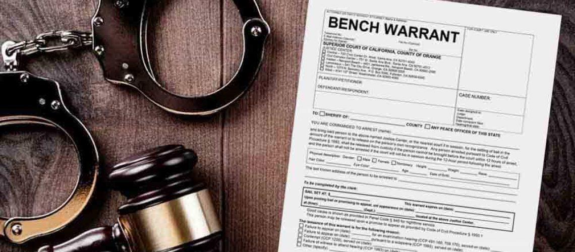 NJ bench warrant